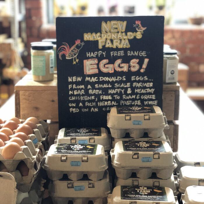 New Macdonald Farm eggs
